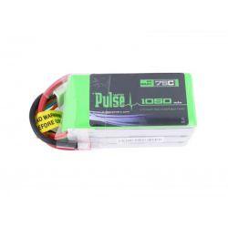 PULSE 6S 1050mah 75C LiPo Battery
