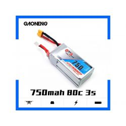GNB 3S 750mAh 11.1V 80/160C XT30