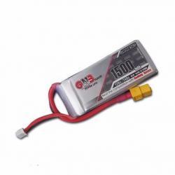 GNB 4S 1500mah 120/240C 14.8v Lipo Battery